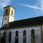 The Protestant church of Gomaringen