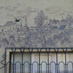Wall painting in the Kirch street