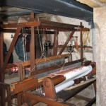 An old loom in the museum of Gomaringen