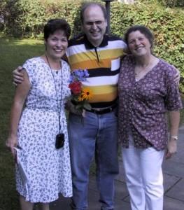 from left: Jackie Dubois, Rüdiger Kemmler, Monika Schmid