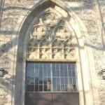Eingang der Kirche in Gönningen