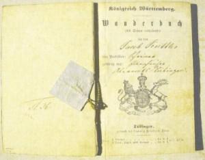 Wanderbuch of Jakob Kuttler