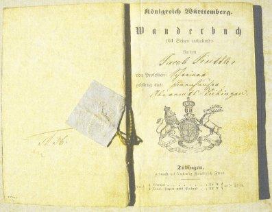 Wanderbuch von Jakob Kuttler