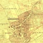 Alter Stadtplan von Immenhausen