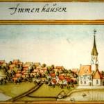 Bild von Immenhausen 1683 von Andreas KIeser
