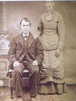 Johann Adam Hoss & Emma Catherine Schnarrenberger