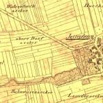 Alter Stadtplan von Jettenburg