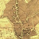 Alter Stadtplan von Kusterdingen