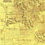 Alter Stadtplan von Mähringen