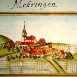 Bild von Mähringen 1683 von Andreas Kieser
