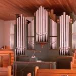 Die Orgel der St. Stephans Kirche in Mähringen