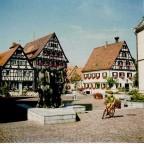 Der Marktplatz mit den Rathäusern