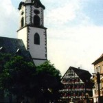 The church of St. Martin
