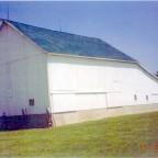 """Die Walker Scheune, die Jacob Walker gehörte und als """"German Stock Farm"""" bekannt war."""