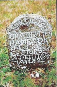 Grabstein von Johannes Digel (Dickel)