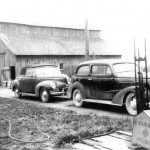 Milking Barn on the Trant Farm, 1942