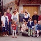 Steve mit Familie und seinen Mähringer und Kusterdinger Verwandten