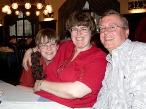 from left: Florian, Dorothy, Steve