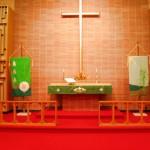 Altar der Lutherischen Kirche in Hartford City, IN