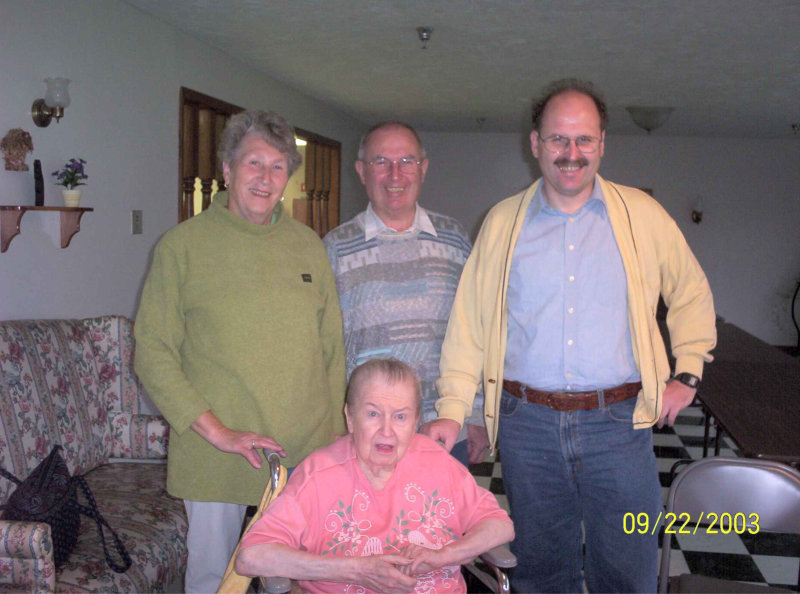 Visit to  Peggy Barnes
