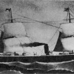 "Emigration ship ""Allemania """