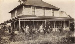 Farmhaus von Johann Adam Gutbrod um 1902