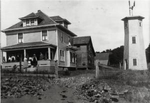 Haus von Johann Jakob Grauer um 1900